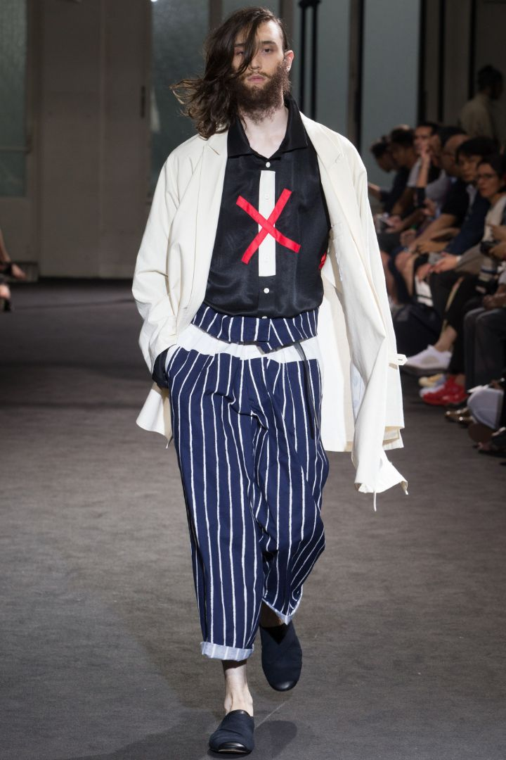 Yohji Yamamoto Menswear SS 2017 Paris (18)