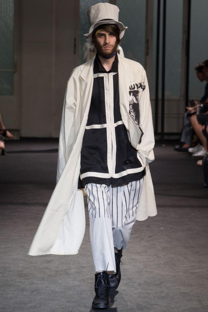 Yohji Yamamoto Menswear SS 2017 Paris (19)
