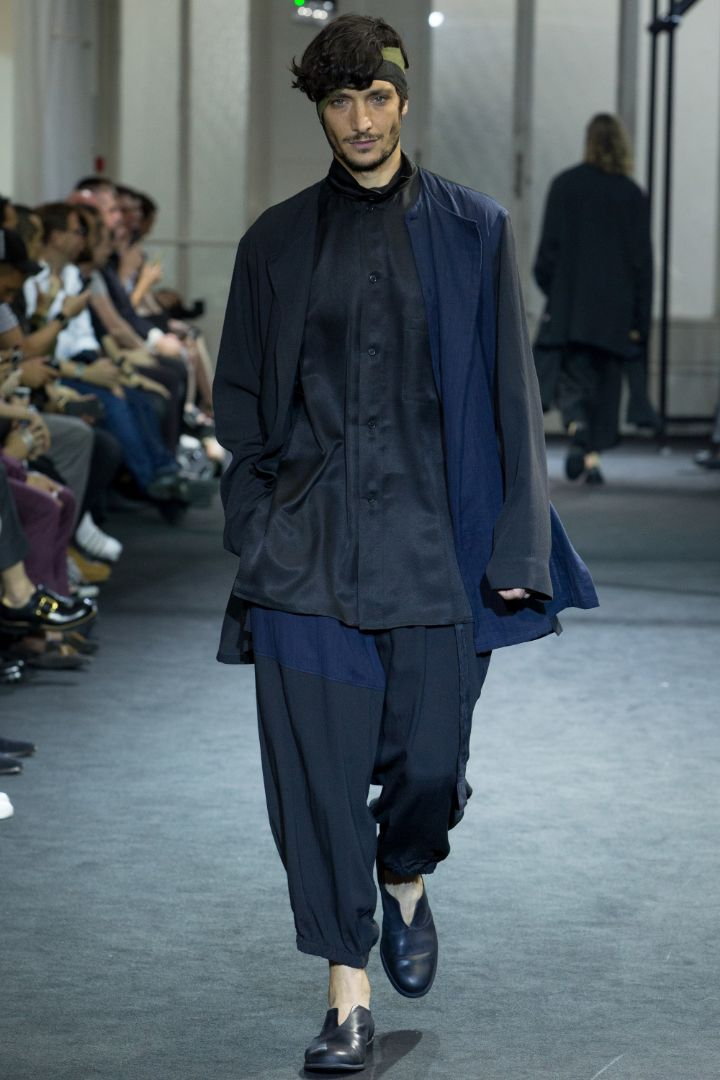 Yohji Yamamoto Menswear SS 2017 Paris (2)