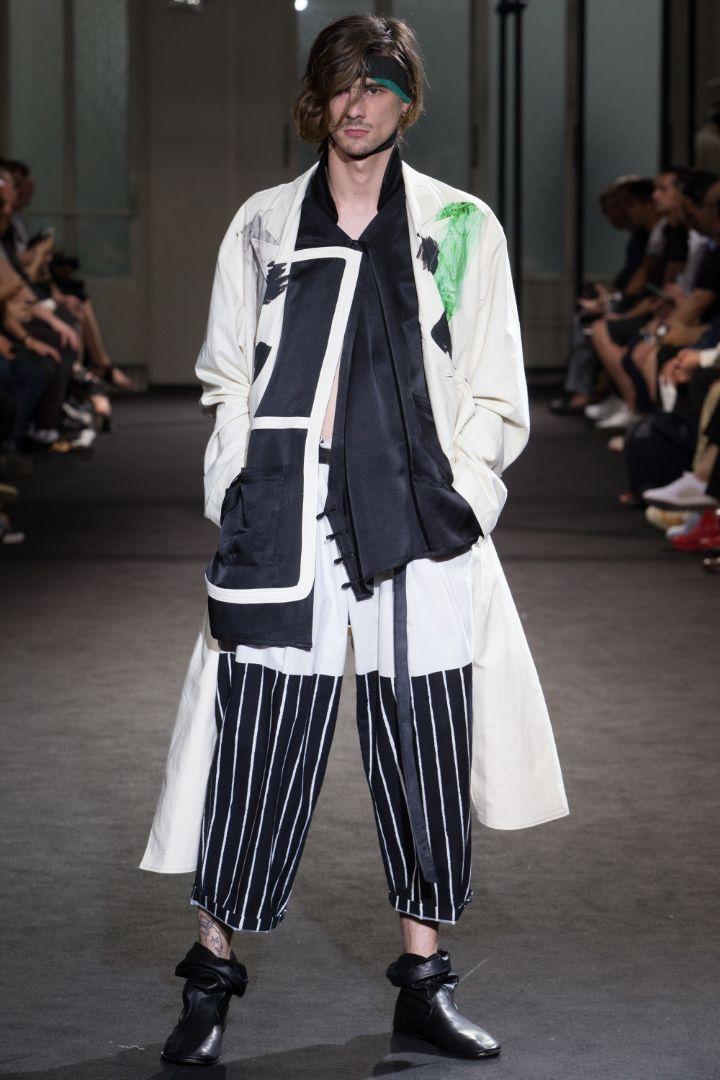 Yohji Yamamoto Menswear SS 2017 Paris (20)