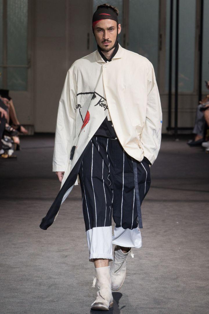 Yohji Yamamoto Menswear SS 2017 Paris (21)