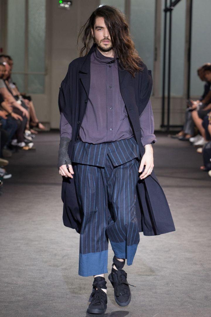 Yohji Yamamoto Menswear SS 2017 Paris (22)