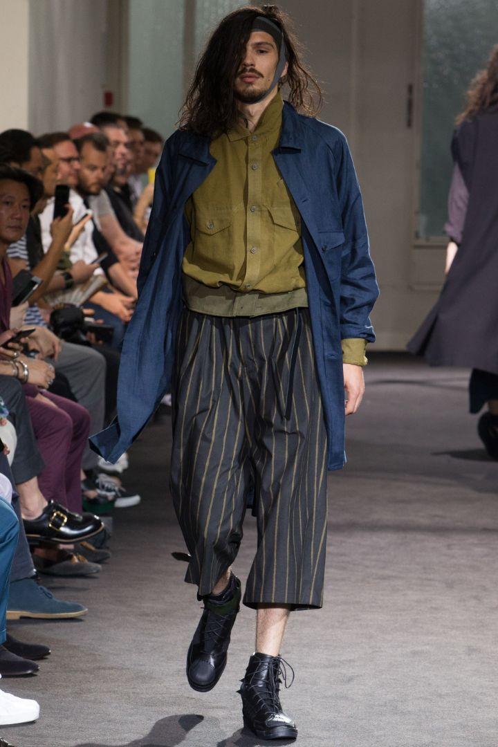Yohji Yamamoto Menswear SS 2017 Paris (23)