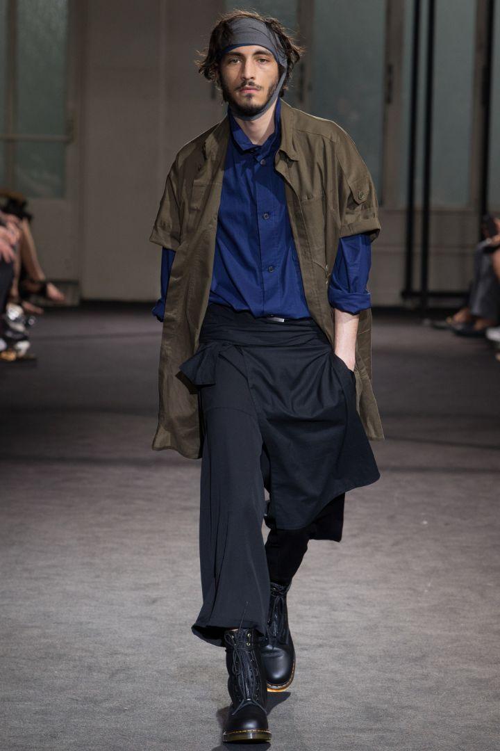 Yohji Yamamoto Menswear SS 2017 Paris (24)