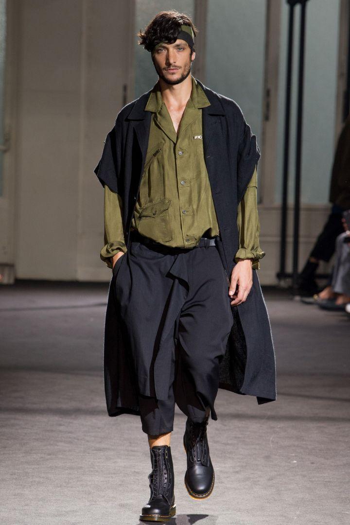 Yohji Yamamoto Menswear SS 2017 Paris (25)