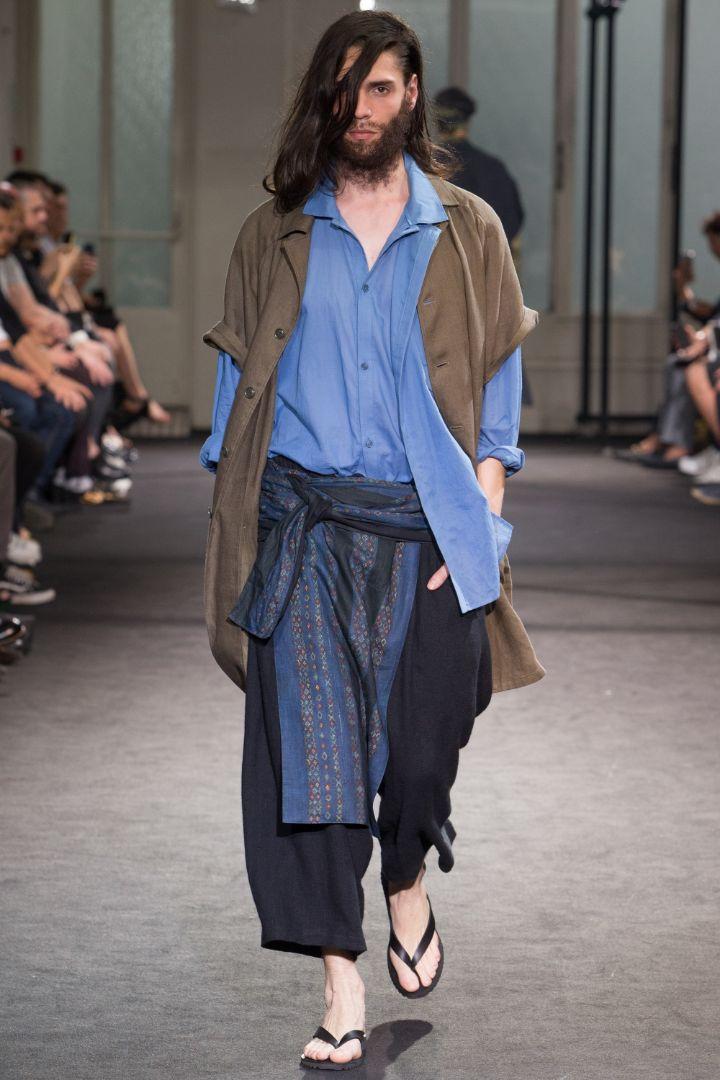Yohji Yamamoto Menswear SS 2017 Paris (26)