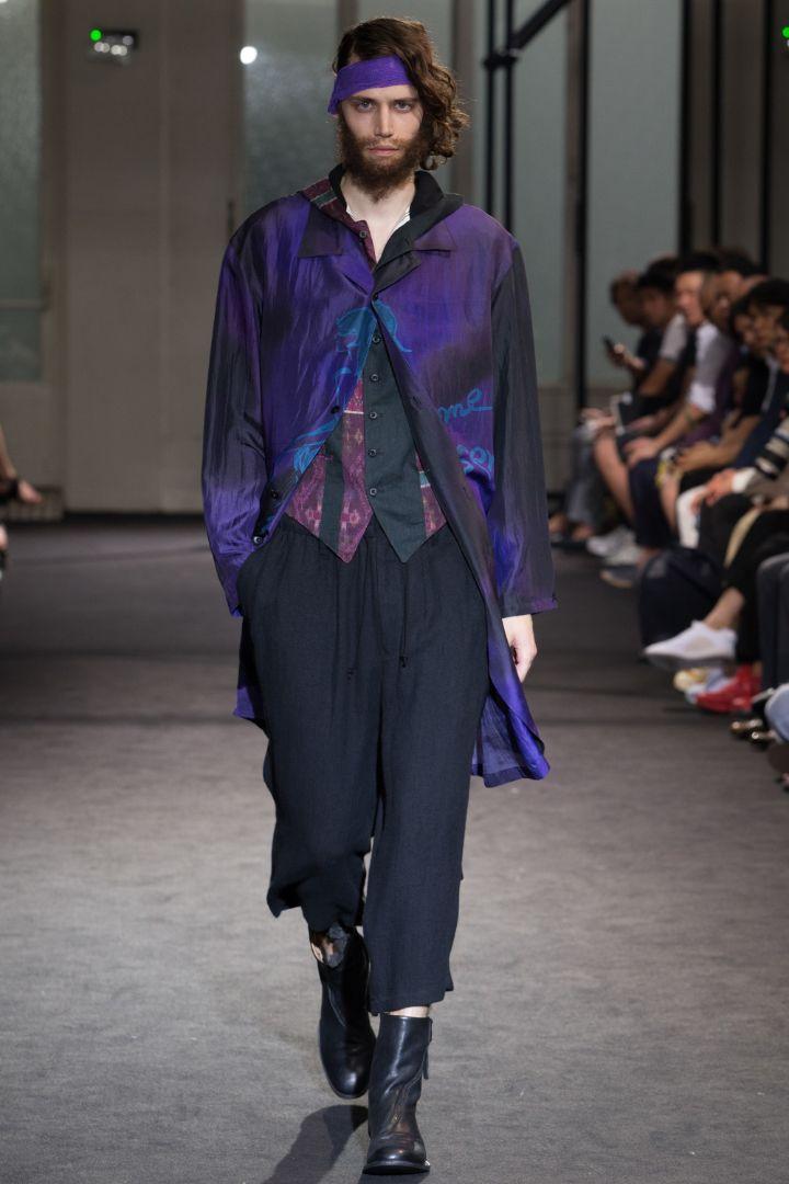 Yohji Yamamoto Menswear SS 2017 Paris (27)
