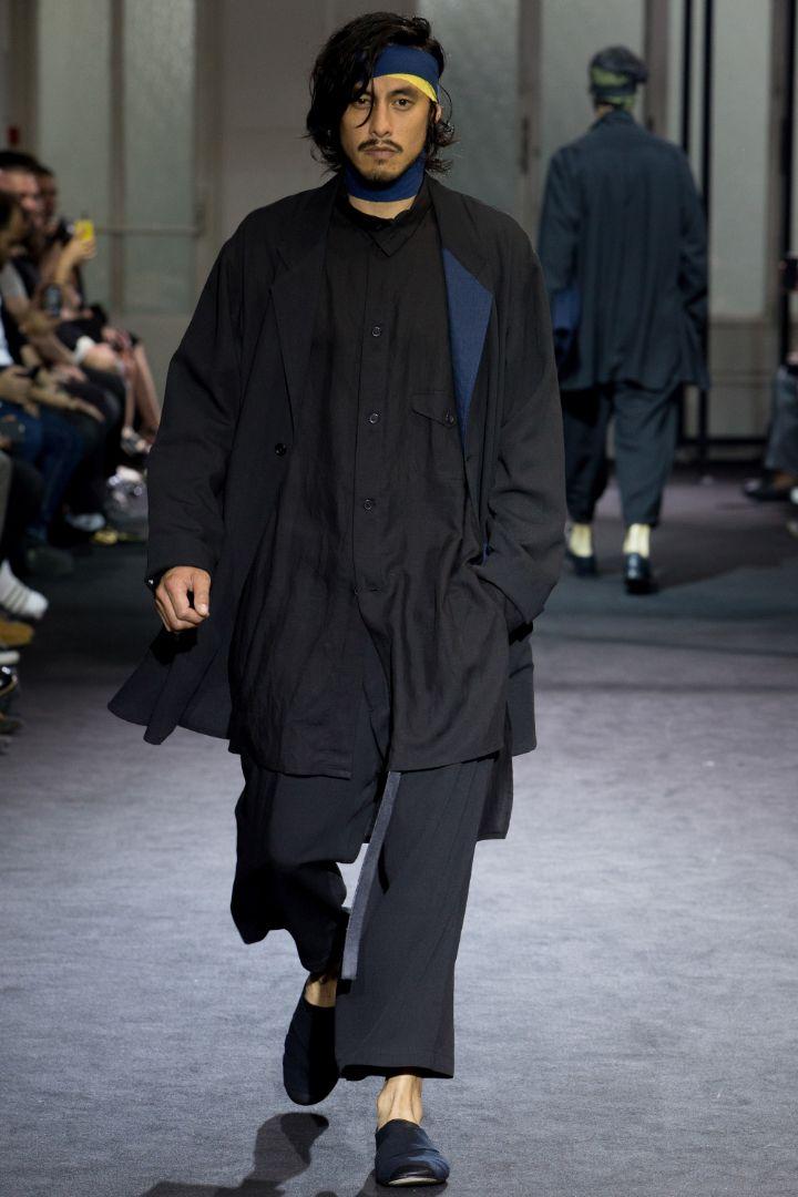 Yohji Yamamoto Menswear SS 2017 Paris (3)