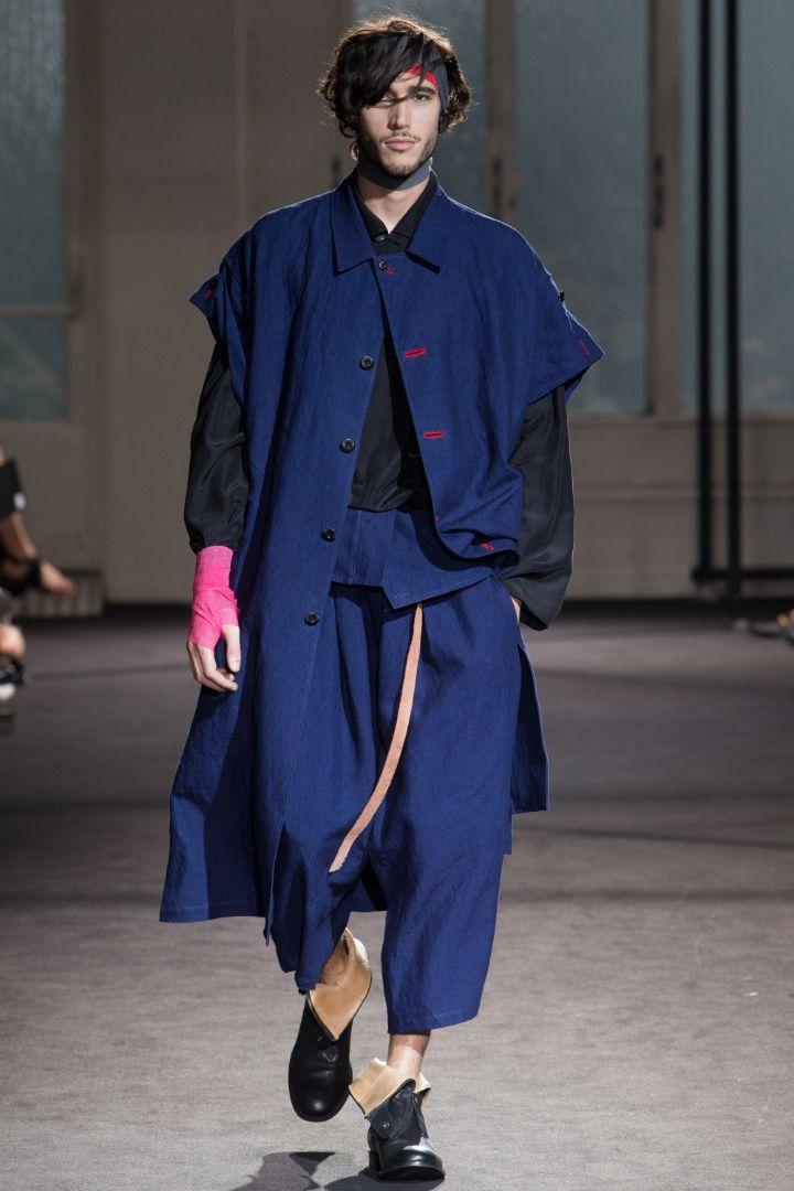 Yohji Yamamoto Menswear SS 2017 Paris (30)