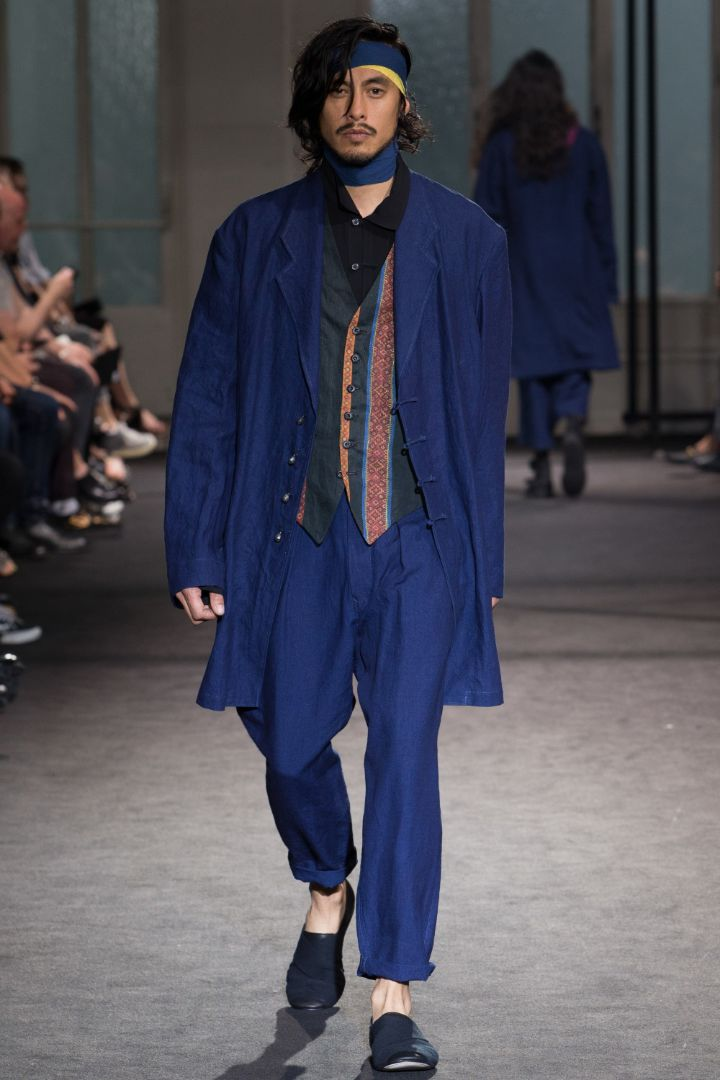 Yohji Yamamoto Menswear SS 2017 Paris (32)