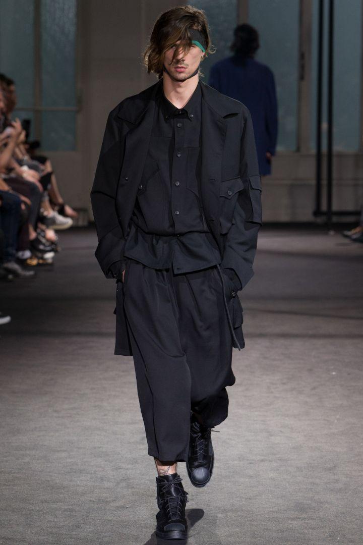 Yohji Yamamoto Menswear SS 2017 Paris (33)