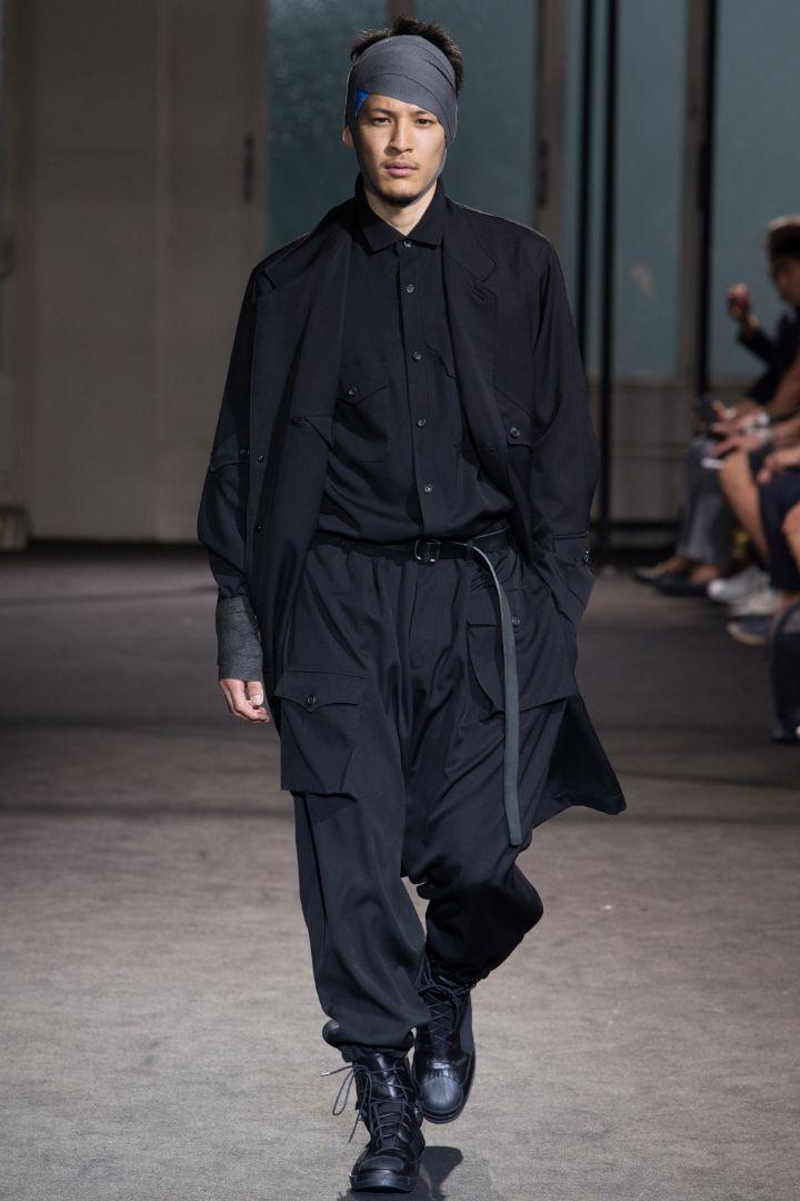 Yohji Yamamoto Menswear SS 2017 Paris (34)