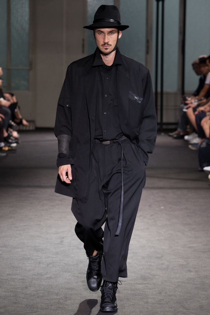 Yohji Yamamoto Menswear SS 2017 Paris (35)