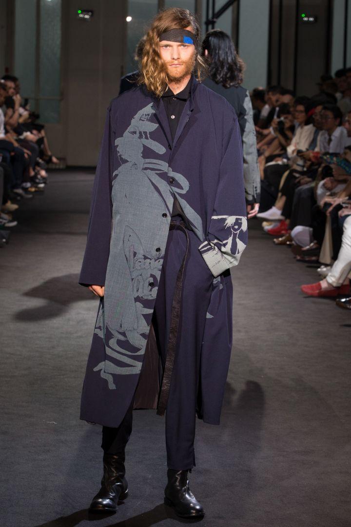 Yohji Yamamoto Menswear SS 2017 Paris (37)