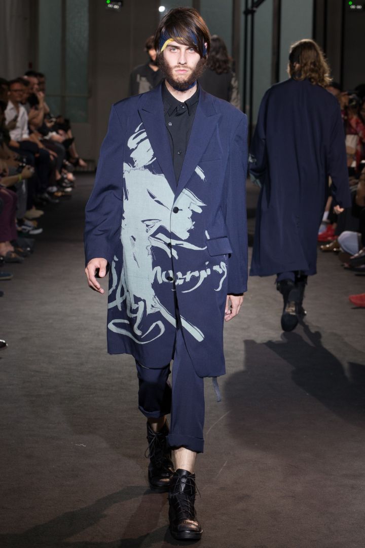Yohji Yamamoto Menswear SS 2017 Paris (38)