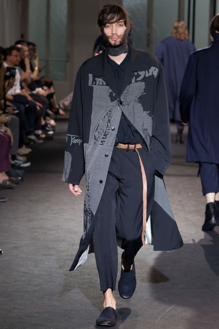 Yohji Yamamoto Menswear SS 2017 Paris (39)