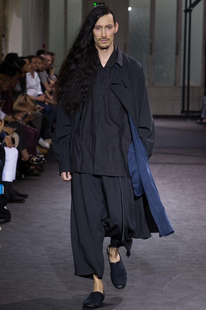 Yohji Yamamoto Menswear SS 2017 Paris (4)