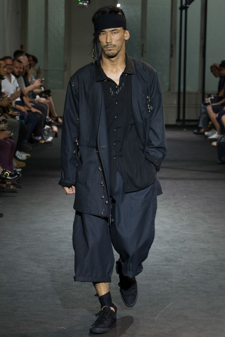Yohji Yamamoto Menswear SS 2017 Paris (5)