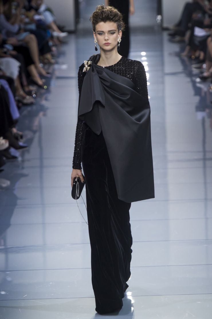 Armani Priv+¬ Haute Couture FW 2016 Paris (41)