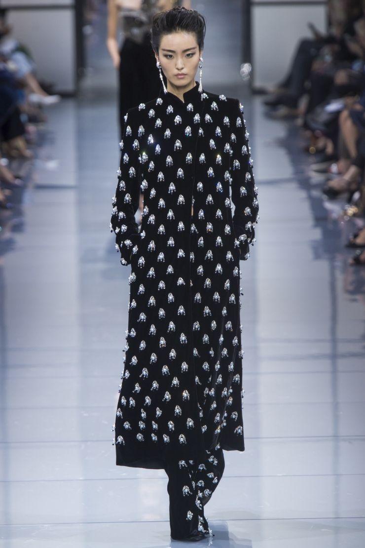 Armani Priv+¬ Haute Couture FW 2016 Paris (44)
