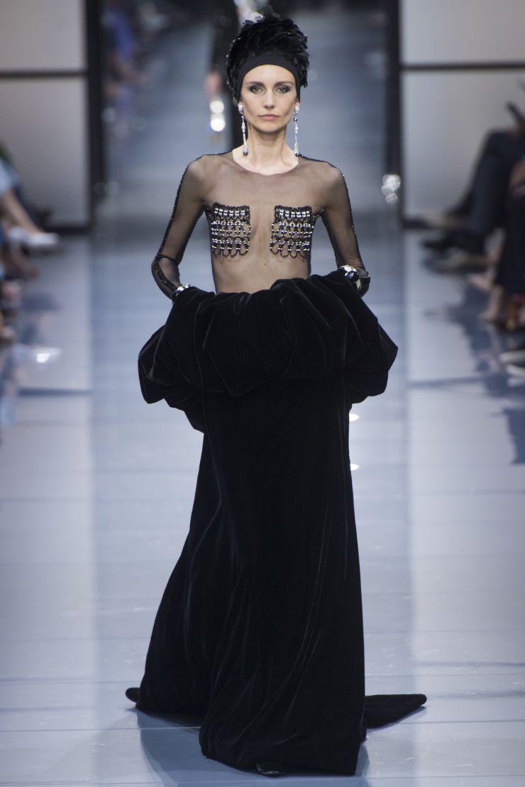 Armani Priv+¬ Haute Couture FW 2016 Paris (55)