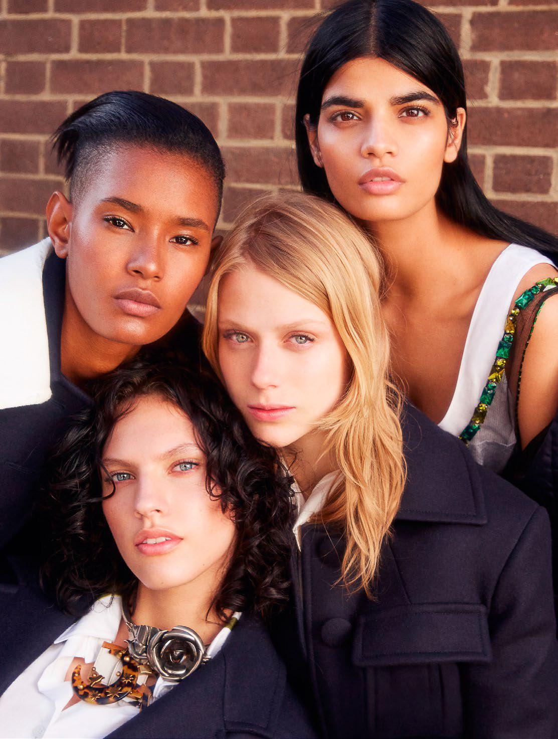 Bhumika Arora, Ysaunny Brito, Sofie Hemmet & Maggie Jablonski by Kai Z Feng (10)