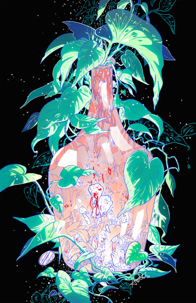 Surreal Gore Illustrations by Aster Hung (5)