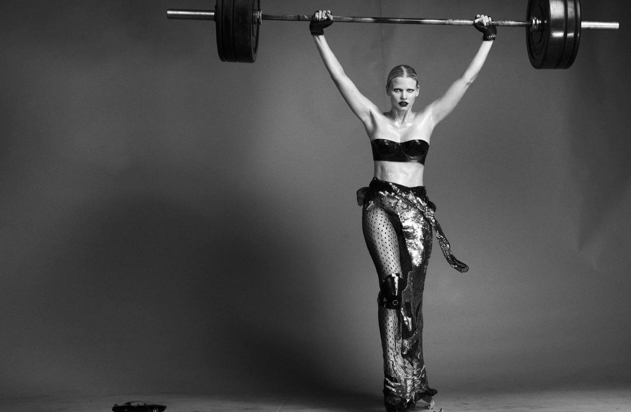 Lara Stone by Steven Klein (9)