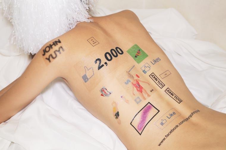Social Network Body Art (2)