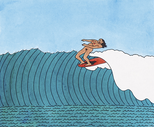 Surf's Up by Ken Price (3)
