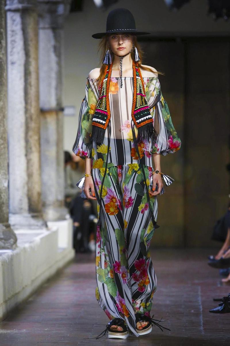 Blugirl, Women Fashion Show, Ready to Wear Collection Spring Summer 2017 in Milan